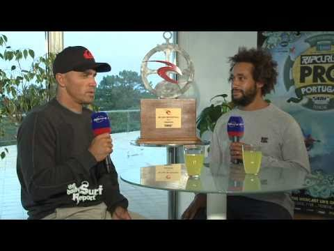 Rip Curl Pro Portugal 2010 - JP catches up with Kelly Slater