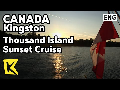 【K】Canada Travel-Kingston[캐나다 여행-킹스턴]세인트루이스 강, '천섬'/Thousand Island Sunset Cruise/Saint Louis River