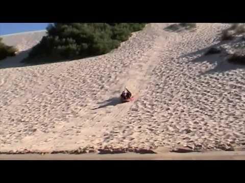 """Sandboarding"" ""Moore River"", Guilderton Perth Western Australia"
