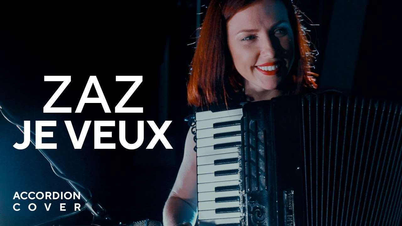 zaz je veux live instrumental accordion cover by moscow. Black Bedroom Furniture Sets. Home Design Ideas