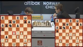 Карлсен - Карякин. Инцидент с бутылкой На Norway Chess 2017! Блиц шахматы