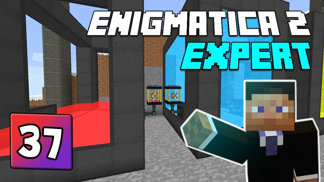 Enigmatica 2: Expert Mode - EP 37 | Nuclear Reactor fuel pt2