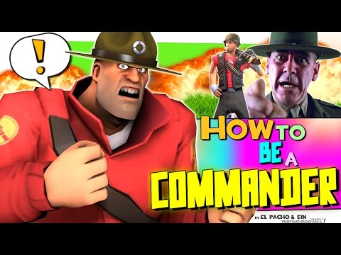 TF2: How to be a Commander (Full Metal Soldier/Voice chat)