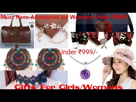 Must Buy Womens Accessories Under ₹999/-  Gifts for Her   Gifts for Women and Girls 