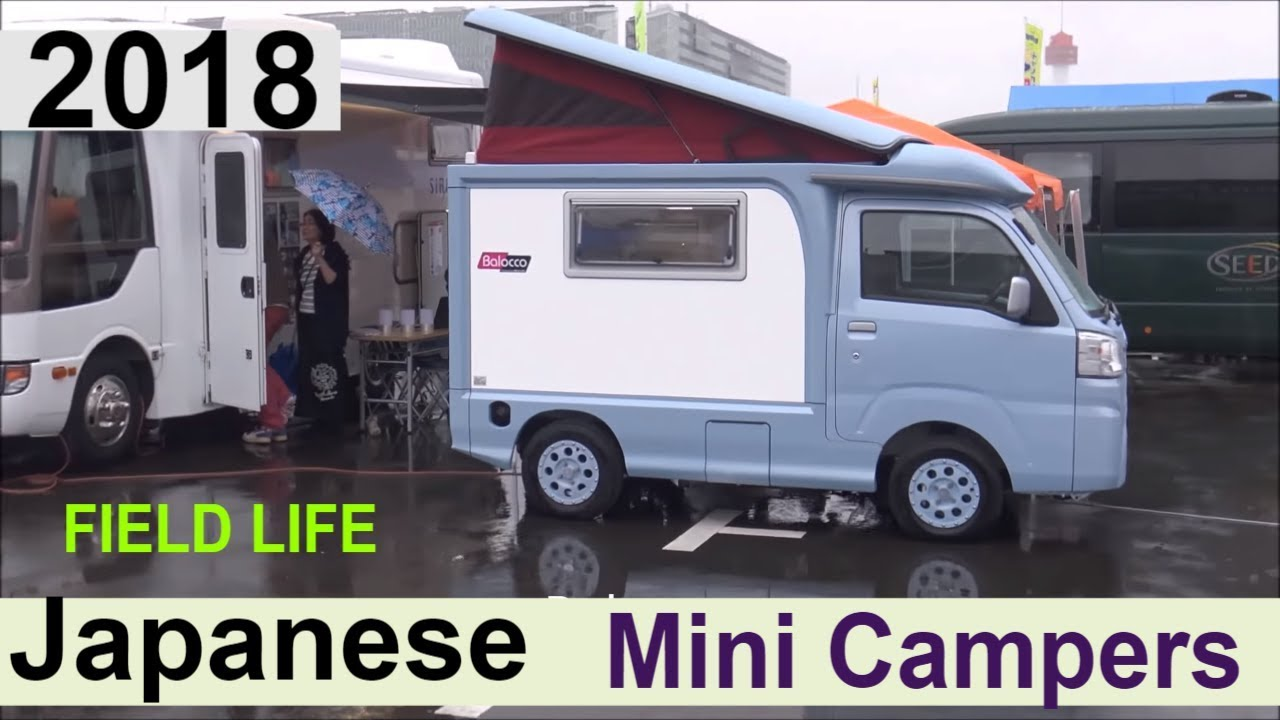 the mini campers from field life 2018 youtube. Black Bedroom Furniture Sets. Home Design Ideas