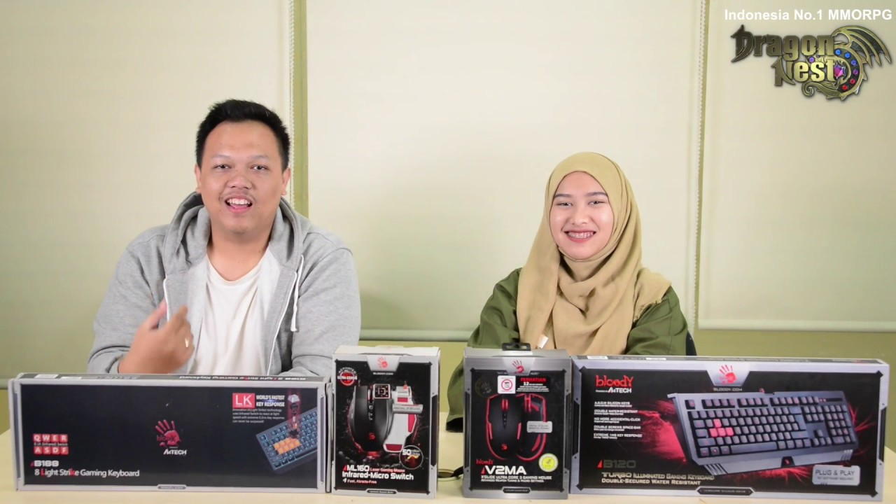 Product Review Gaming Keyboard And Mouse Bloody Try To Play Dragon V2ma Nest Indonesia