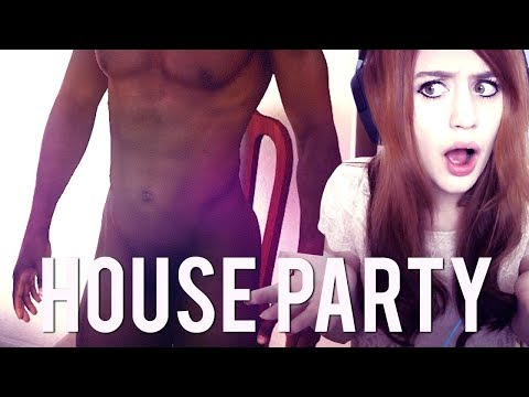 HOUSE PARTY #21 - D.. Derek WTF!? ● Let's Play House Party