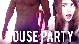 HOUSE PARTY #21 - D.. Derek WTF!? ● Let's Play House Party 2017 Video