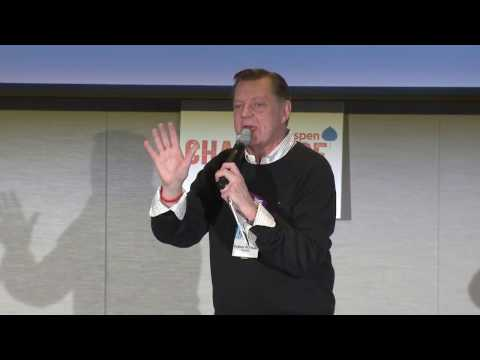 Father Pfleger at the 2017 Aspen Challenge Opening Forum Chicago