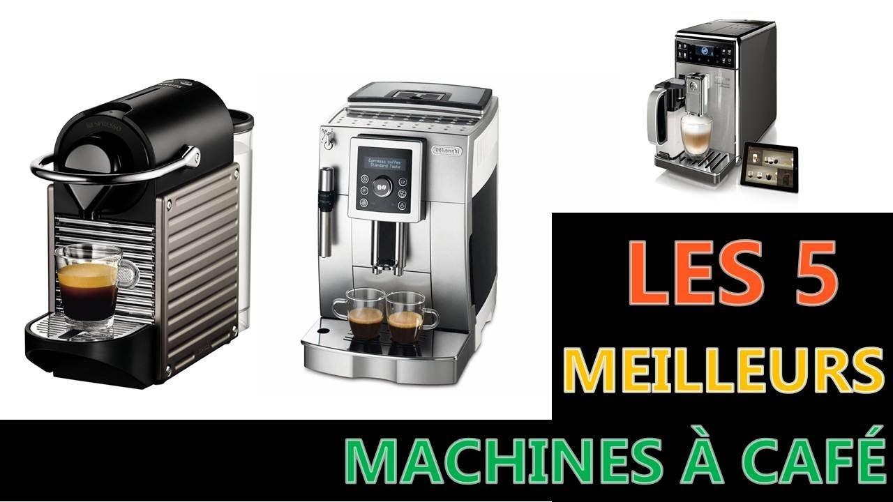 Les 5 Meilleures Machines à Café 2019 - YouTube