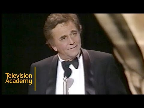 Peter Falk Wins Outstanding Lead Actor in a Drama Series | Emmy Archive 1990