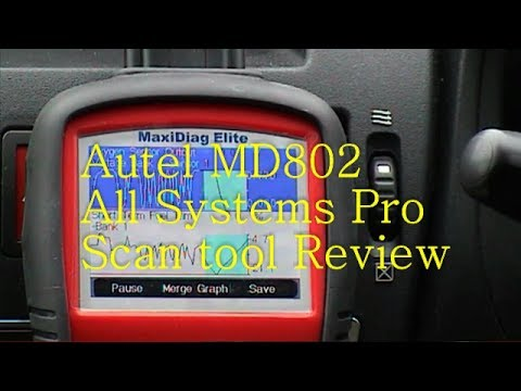 Autel MD802  Elite All Vehicle System's Pro DS Scan tool Review