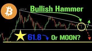 Bitcoin Bullish Hammer ... but is it truly bullish? + ETH | LTC | XRP