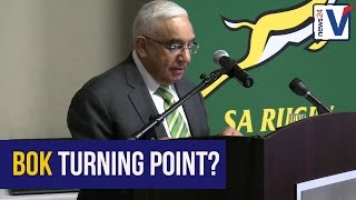 WATCH: SA Rugby president hints at central contracts to 'fix' Boks