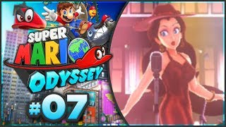 Super Mario Odyssey - Metro Kingdom 100% Walkthrough! [Part 7]