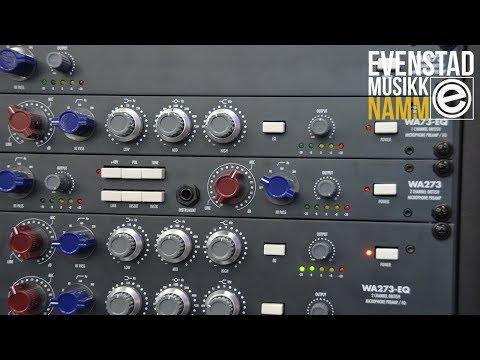 NAMM 2018 | Warm Audio (WA273, WA273-EQ, WA73, WA73-EQ)