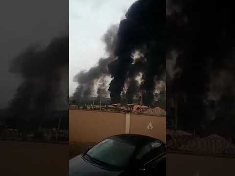 JUST IN: Pipeline Explosion Rocks Iyana Odo (Watch Video)