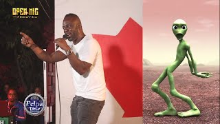 Cutty Ranks with His 3Billion views hit song call DAME TU COSITA, JAMAICAN Go hard at OPEN MIC