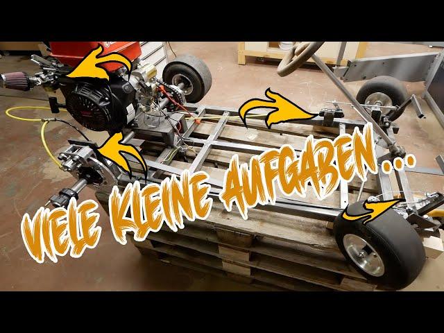 Umbau & Tuning am Motor   Bremse & Pedale   13PS Go Kart   DIY Kart 2.0   Lets do it