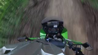 Part 2 - KLR650 with inverted forks First Off-road Ride with Inverted Forks.