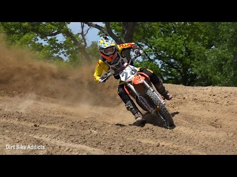 2 Stroke RAW: Supermini at Baja Acres Ft. Matthew Gross- Dirt Bike Addicts