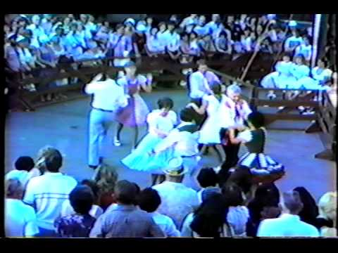 Ichabod Square Dancers at Knott's Berry Farm Early...