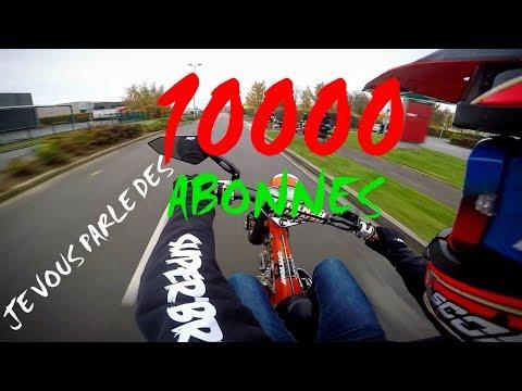 MOTOVLOG#11: 10000 abonnées, wheeling en 701 et 125 wrx, rencontre avec quelques abonnés,