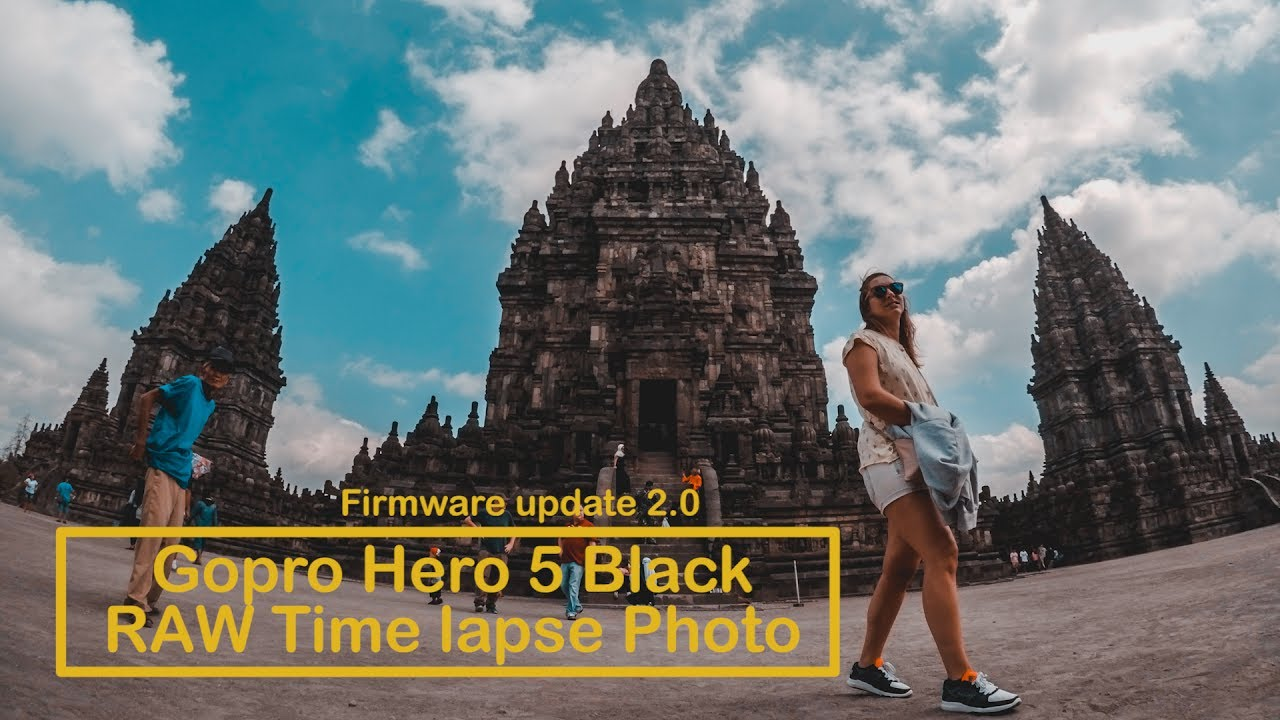 Gopro Hero 5 RAW Time Lapse Photo Settings