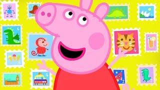 Фото Peppa Pig Official Channel  Peppa Pigand39s Stamps Collection From All Over The World
