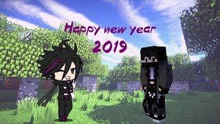 Minecraft Animation Happy new year 2019 PLUS ULTRA