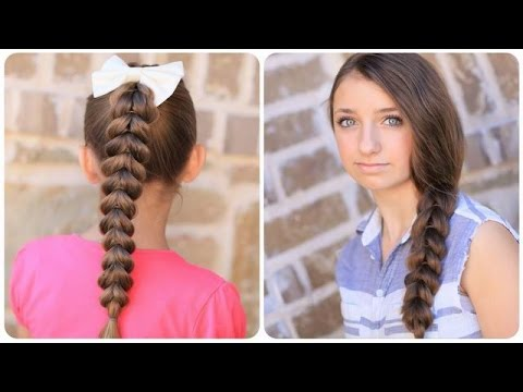 Easy Hairstyles For School L Back To School Hairstyles Youtube