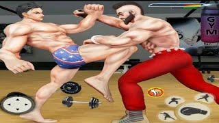 GYM fighting games : Bodybuilder Trainer Fight PRO screenshot 1