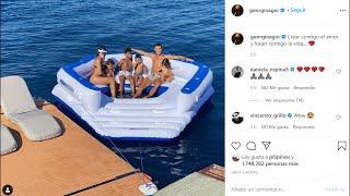 Georgina se pone romántica en Instagram