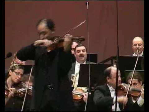 Dvorak Violin Concerto - Carmine Lauri - Malta Philharmonic - M laus. 3rd mvt - January 2009