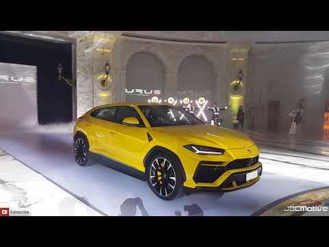 Launch of The Lamborghini URUS in Qatar