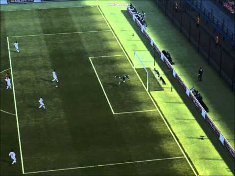 PES 2012 Demo First Goal