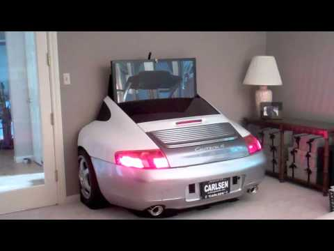 2005 porsche 996 tv display center youtube. Black Bedroom Furniture Sets. Home Design Ideas