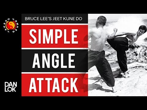Bruce Lee's Jeet Kune Do's Five Ways of Attack - Simple Angle Attack (SAA)