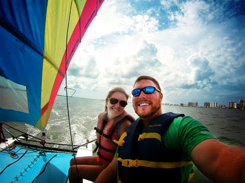 Treasure Island FL Weekend with Clearwater Offshore Power Boat Races & Clearwater Sailing Center