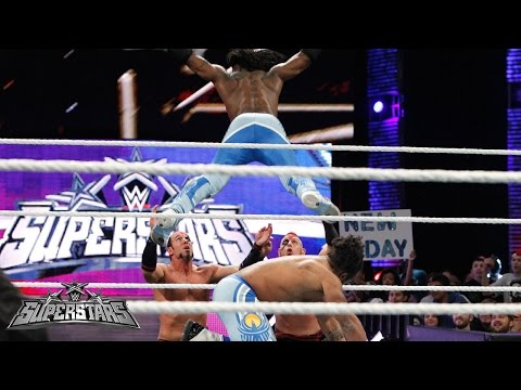 """""""The New Day vs. The Ascension: WWE Superstars, March 27, 2015"""""""