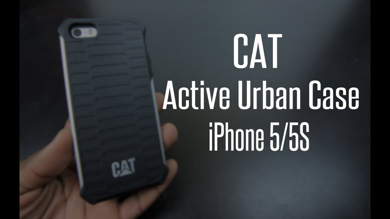 separation shoes beb20 d0a64 CAT Caterpillar Active Urban Case for iPhone 5/5S