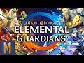 FANTASTIC RPG! Might and Magic Elemental Guardians (Android & iOS 2018)