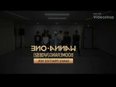Wanna One Boomerang Mirrored Dance Practice