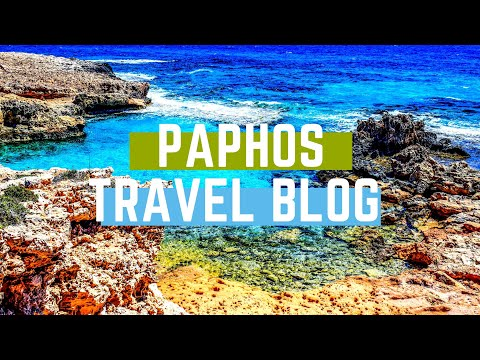 WEEKLY VLOG 2 - TRAVEL WITH ME TO PAPHOS CYPRUS