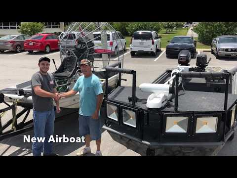 NC Bowfishing With Airboat
