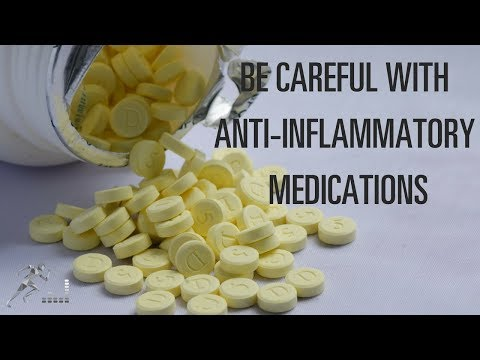 Be careful when taking an anti-inflammatory medication