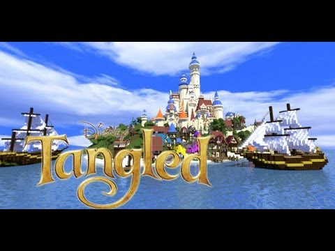 Minecraft disney tangled youtube minecraft disney tangled gumiabroncs Image collections