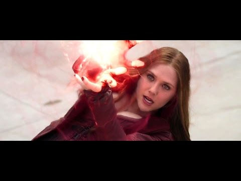 Scarlet Witch - Fight Moves & Power Display Compilation HD