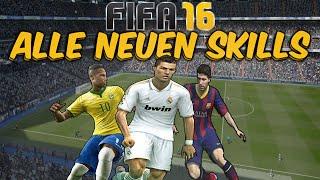 FIFA 16 ALLE NEUEN TRICKS/SKILLS TUTORIAL - (PS4/XBOX ONE/PC) - ULTIMATE TEAM DEUTSCH TIPPS & TRICKS