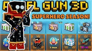 NEW 16.1.0 SUPERHERO BATTLE PASS SEASON REVIEW | Pixel Gun 3D